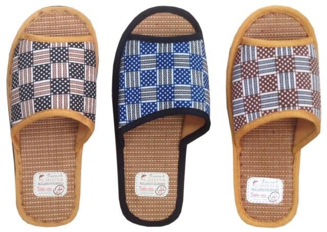 Купить Туфли комнатные мужские А-56 В22-102(101)-1 отк (р.40-45), S.mister, текстиль