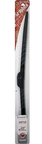 Купить Щетка стеклоочистителя бескаркасная 24/600мм Автостандарт универсальная 106410, Autostandart