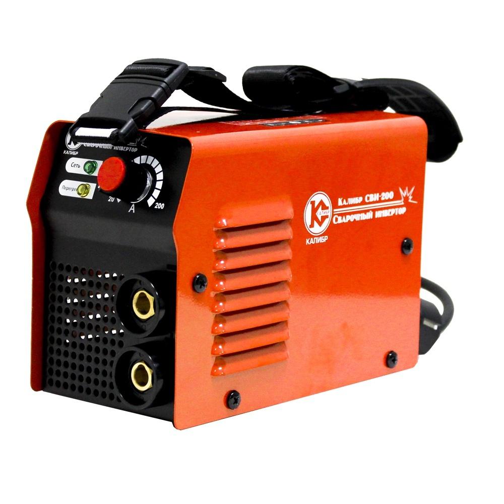 Купить со скидкой Сварочный аппарат инверторный Калибр Сви-200