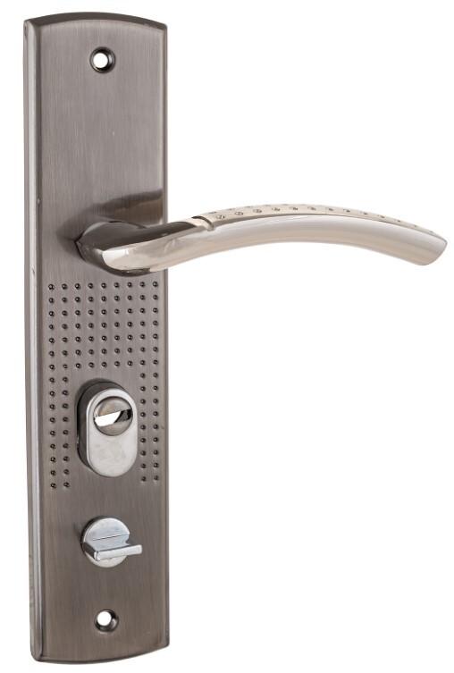 Комплект ручек Аллюр Рн-А132-L универс. для кит. металл. дверей левая 5664