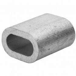 Зажим для троса прижимной 5мм (1) 102759