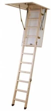 Лестница чердачная Hobby 1200x700*2840 мм фото