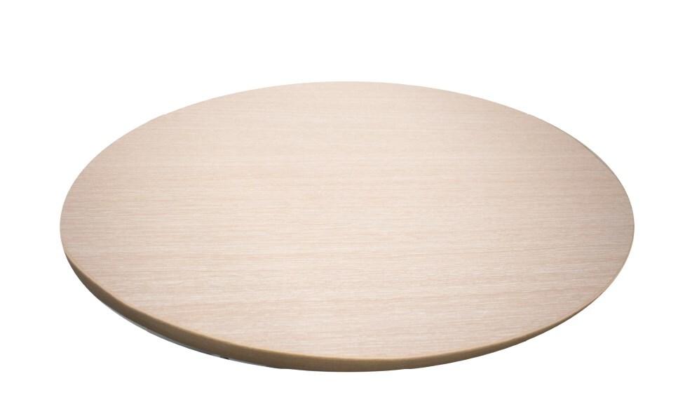 Купить Столешница круг Камелия молочный 2300000011807, ЛДСП