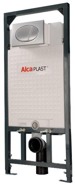 Купить со скидкой Система инсталляции д/унитаза Alca Plast (рама, крепл, кнопка, звук.плита) Set 4 V 1 Am101+M071