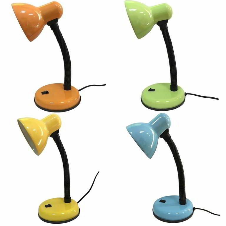 Купить Светильник настольный Rev ассорти (оранжевый, зеленый, желтый, голубой) 25051 7