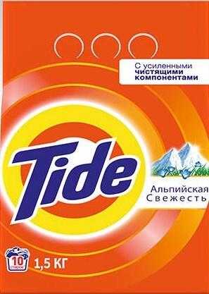 Порошок Tide Альпийская свежесть автомат 1,5кг фото