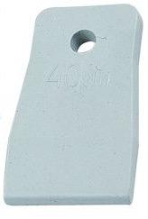 Купить Шпатель резиновый T4p белый 40мм 1209104/ Stayer 1027-40