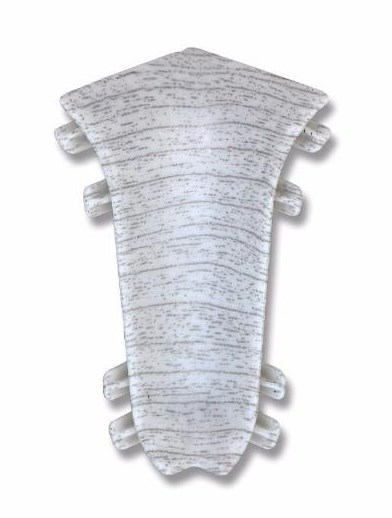 Плинтус Идеал уголок внутрен. Дуб снежный (2шт.) фото