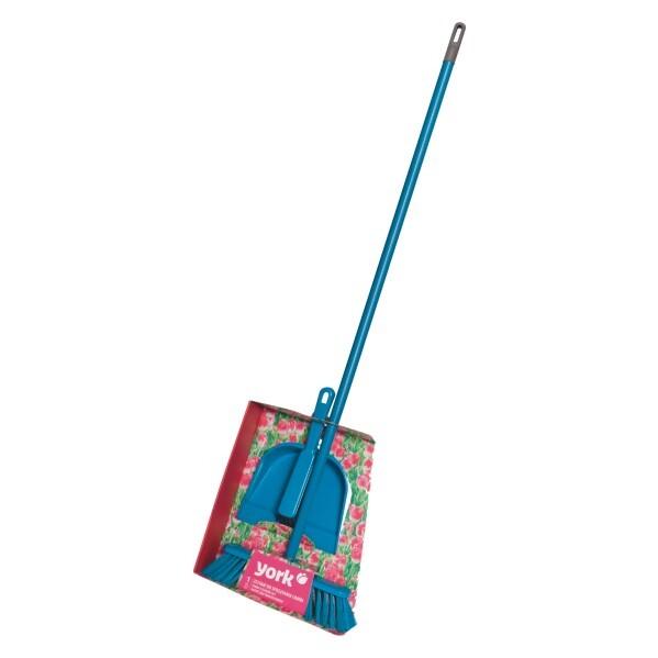 Купить Набор для уборки York Комби (совок+щетка-сметка+щетка с рокояткой) 82010 в ассорт., в ассортименте, пластик