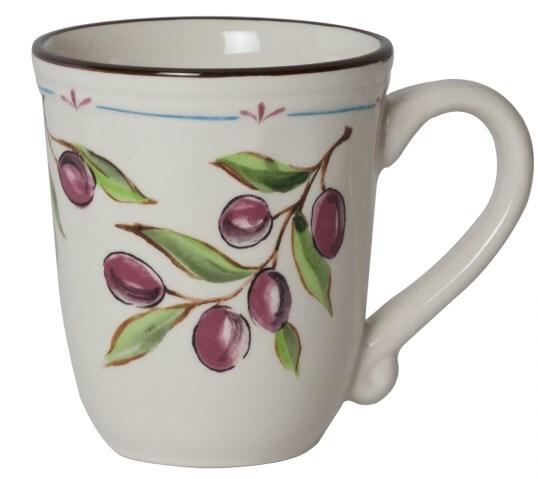 Кружка Fioretta 360мл Olive Tree Tdm265 фото