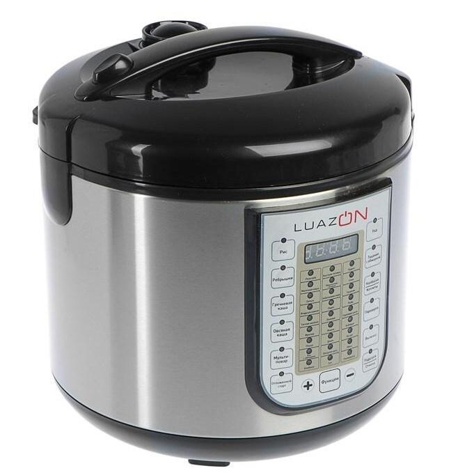 Мультиварка Luazon Lмs-9507 черный/серебристый 4000100 фото