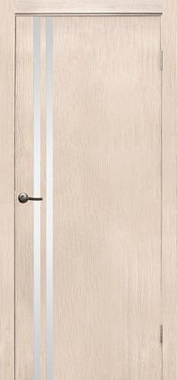 Купить со скидкой Дверь эколайн Гринвуд 11 900х2000мм беленый дуб