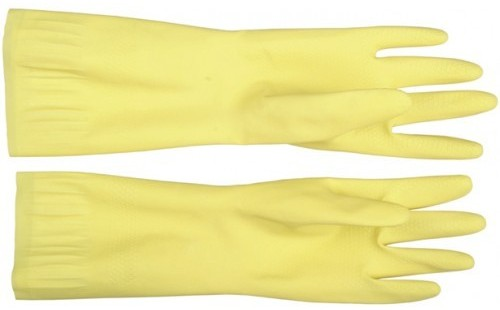 Перчатки латексные с х/б напылением рифленные Stayer 1120 M фото