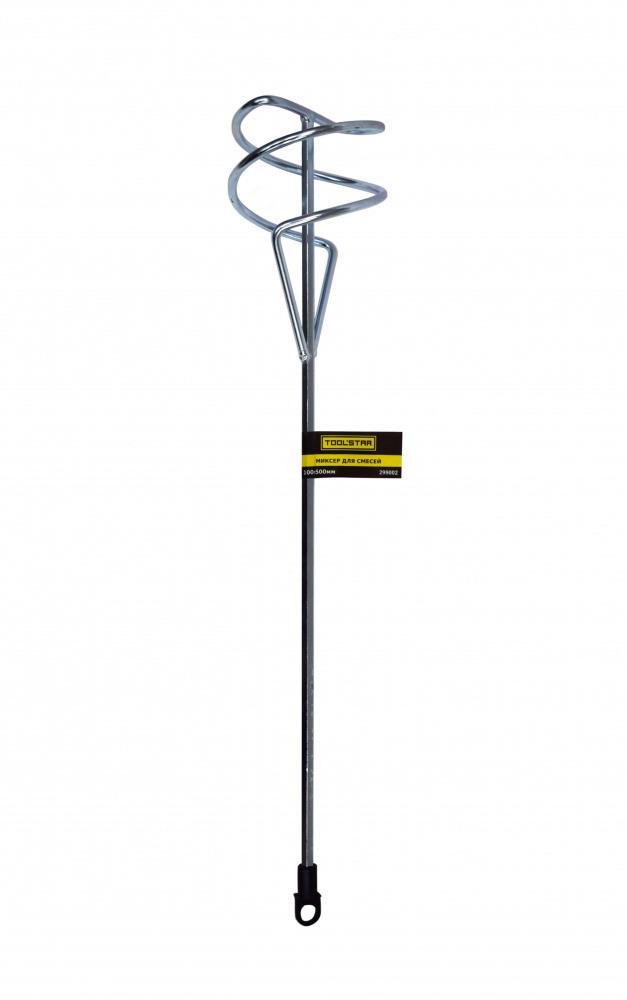 Миксер для смесей Homeproffe шест. хвост, оцинкованный, 100х500мм 299002