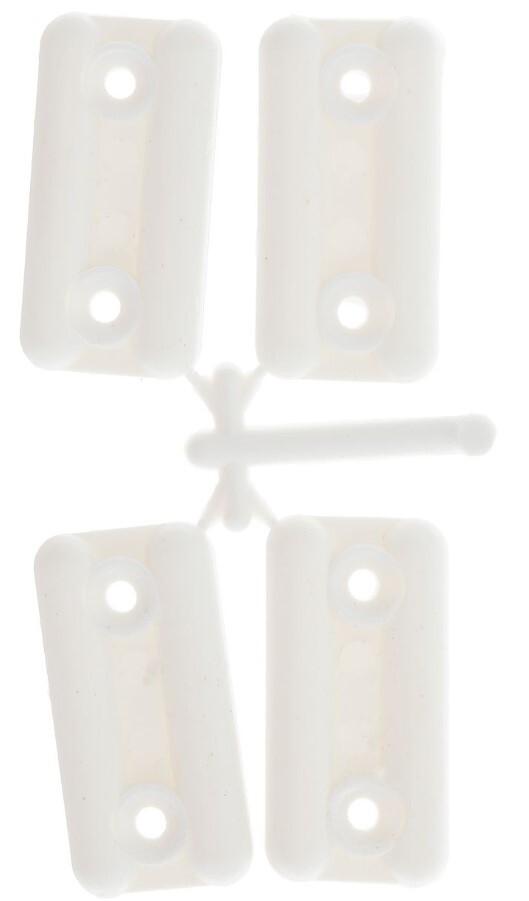 Подпятник пласт. белый 127507