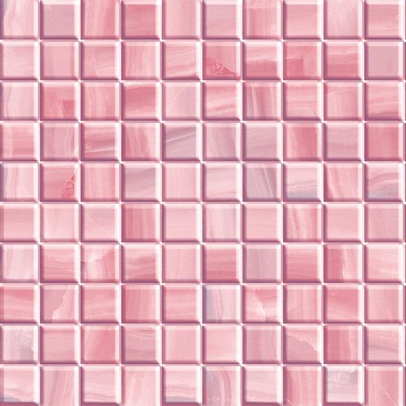 40Х40 Плитка керамическая Каролина розовая фото