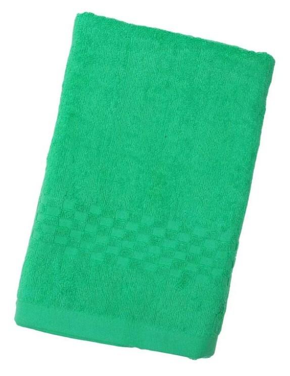 Полотенце Collorista однотонное, цв. зелёный, 40*70 см, 400 гр/м2 1204684 фото