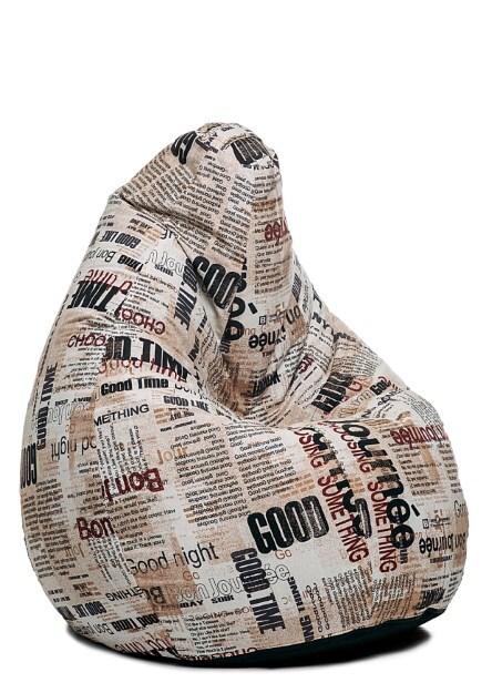 Купить со скидкой Кресло-груша Junior Газета
