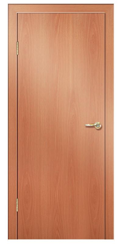 Купить со скидкой Дверь ламинированная 01 600х2000мм миланский орех глухая
