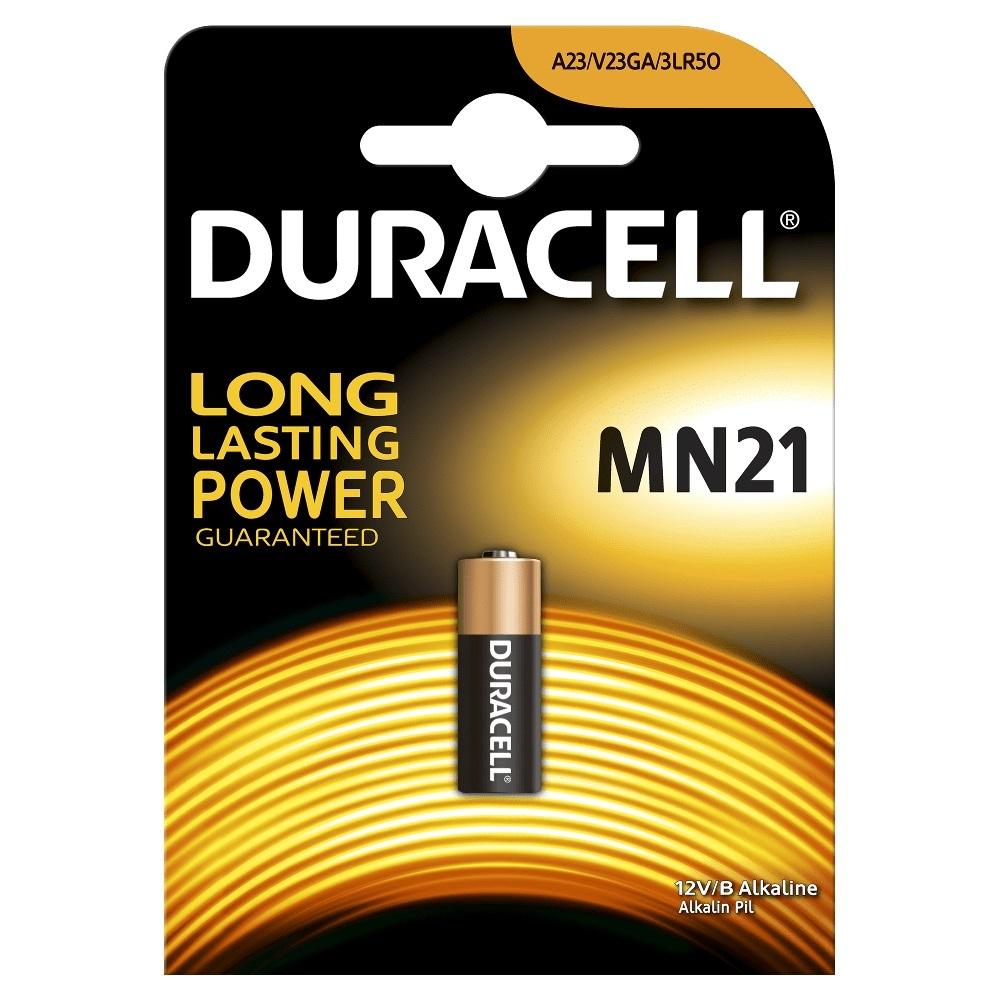 Батарейка Duracell Mn21 (1 шт на блистере) фото