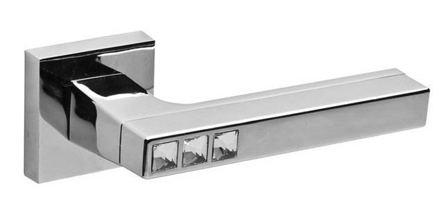 Ручка дверная Fuaro Neo Dm/Hd Abg/Cp-6 зеленая бронза/хром 37641 фото