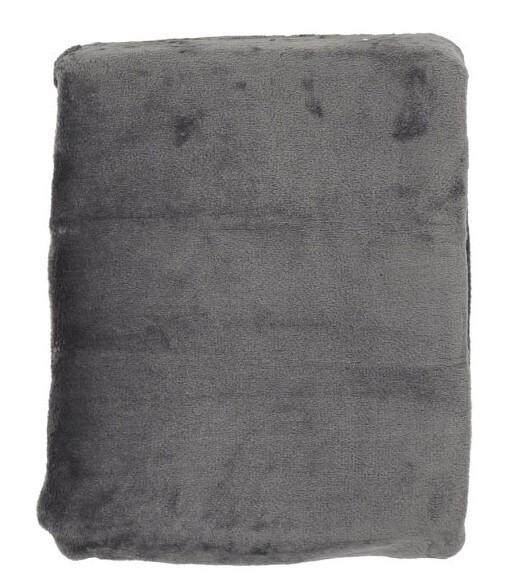 Плед микрофибра Plain дымчато-серый 200х220 6143380