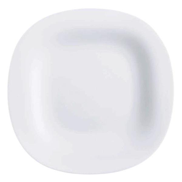 Купить Тарелка десертная 19 см Luminarc Нью Карин белая L4454, белый, стекло