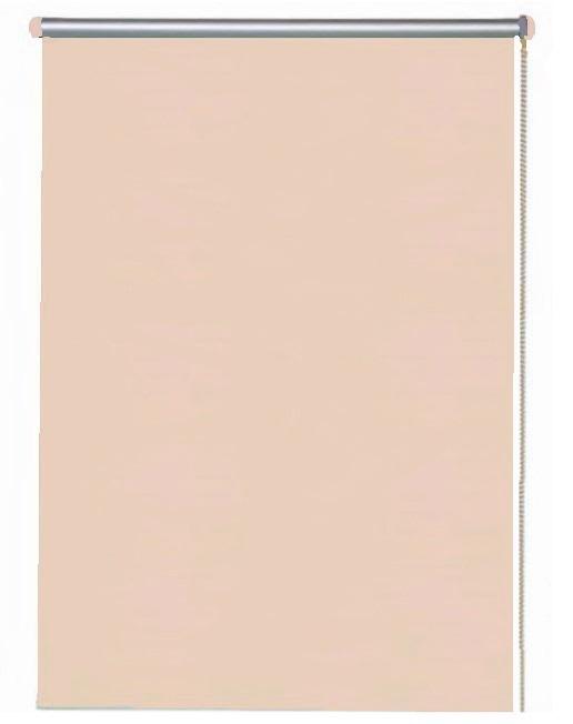 Рулонная штора 70х160 Basiс Блэкаут персик, Персиковый, Рулонная штора 70х160 Basiс Блэкаут персик