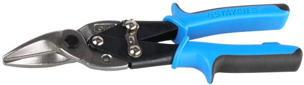 Купить со скидкой Ножницы по металлу Stayer 240 мм правые рычажные хромованад сталь 2320