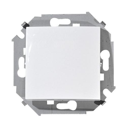 Выключатель Simon-15 1591101-030 1кл белый (механизм) фото