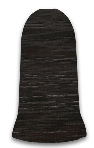 Плинтус Идеал Люкс уголок наружн. Венге темный (2шт.) фото