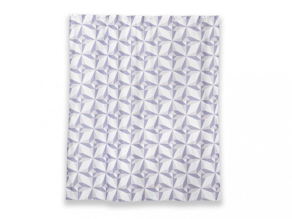 Купить Занавес Santonit Triangulo Т625-7 180*200, Wess, белый, полиэстер