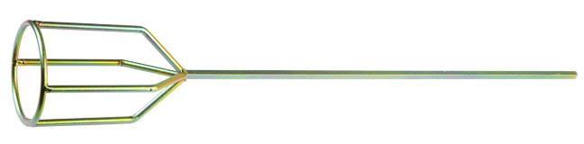 """Купить со скидкой Миксер оцинкованный, для гипсовых смесей и наливных полов, 80х530мм Stayer """"Profi"""""""