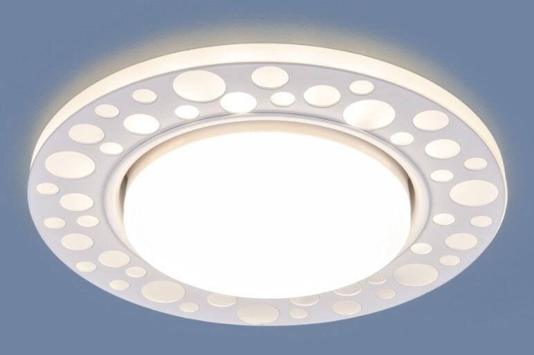 Светильник Es 3032 Gx53 белый фото