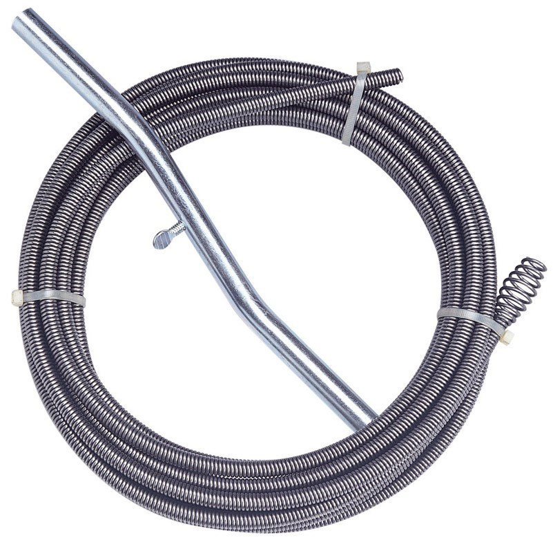 Спираль Крокочист с универсальной насадкой для труб Ф 50мм длиной до 3м 51310-6-30 фото