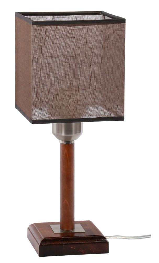 Купить Настольная лампа Кант 1хE27x60Вт орех 154-21-11Т, Дубравия