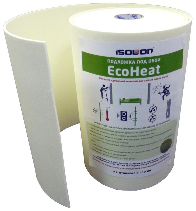 Подложка под обои Eco Heat 5мм (0,5х14м) фото