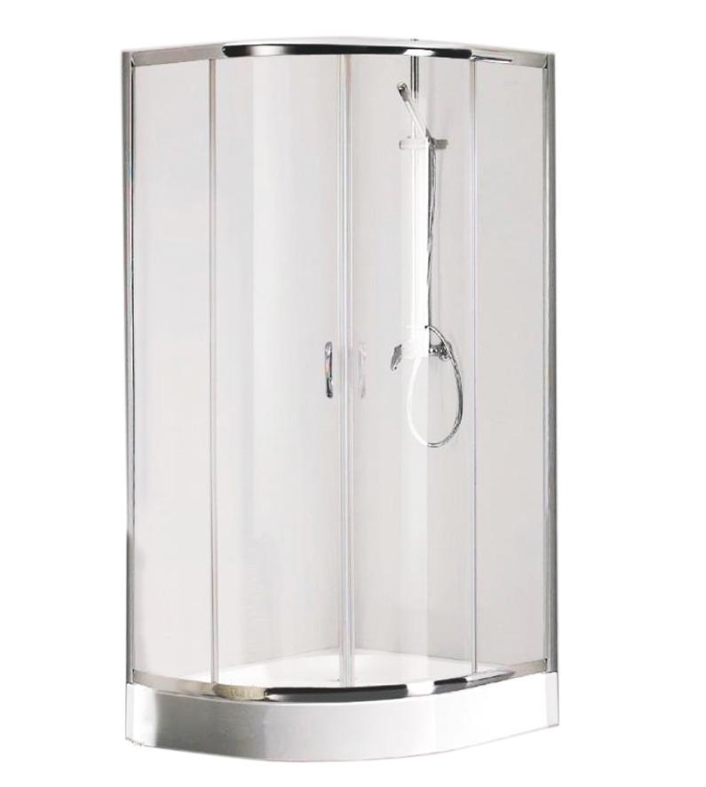 Купить со скидкой Уголок душевой Bravat 100*100 Прозрачное стекло Drop Bs100.1200a