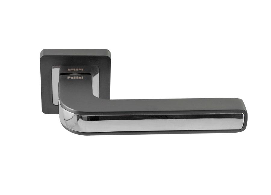 Ручка дверная Pallini Токио Pal-126-Rs Sbn/Np матовый черный никель