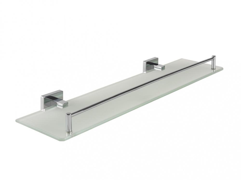 Купить Полка Santonit Defence W01-11, Wess, хром, стекло