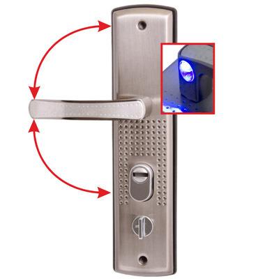Купить Комплект ручек Стандарт Рн-Ст222-1-R универ.подсветка для металл. дверей правая 7839, сталь