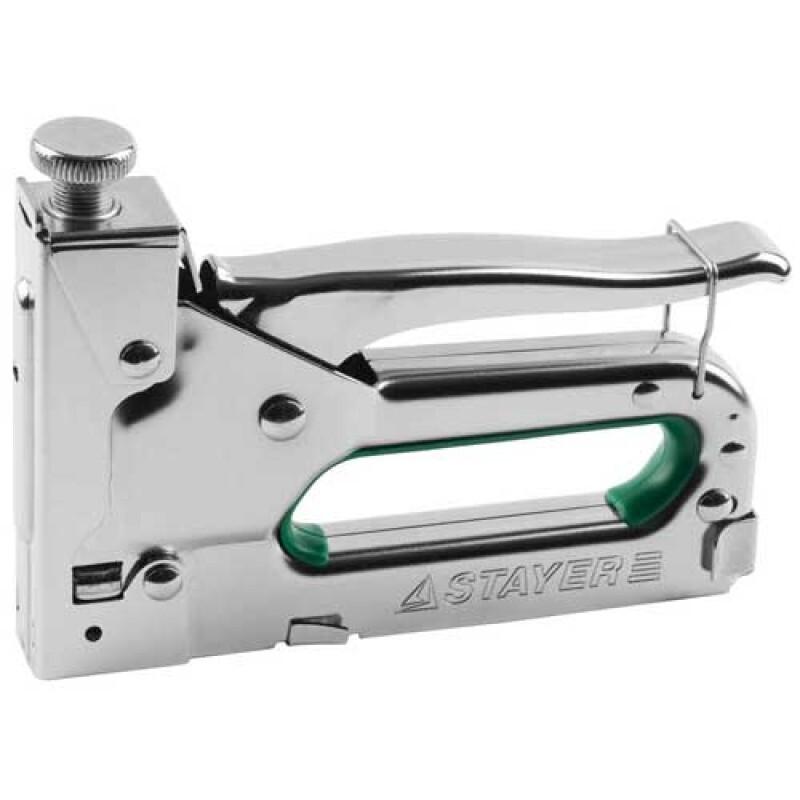 Степлер Stayer Master для скоб,гвоздей,тип140 металл 31508_z02