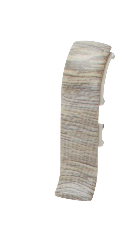 Плинтус Salag соединитель Дуб янтарный серый (4 шт.) Ngtff6 фото
