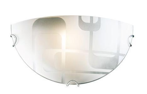 Купить Светильник Halo 057 п/круг d300 E27 1*100W белый/хром, Сонекс
