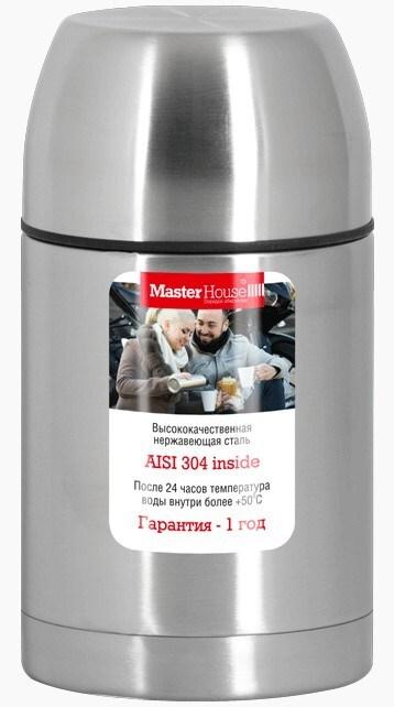 Термос Master House Tirol-650 мл из нержавеющей стали