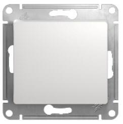 Выключатель Sсhneider Glossa 000111 1кл белый (механизм) фото