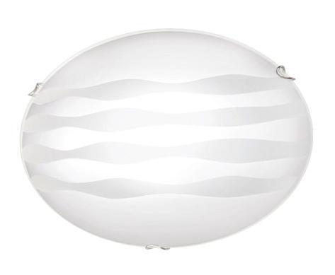 Купить со скидкой Светильник Ondina 133/K круг d300 E27 1*100W / 2*60W белый/хром