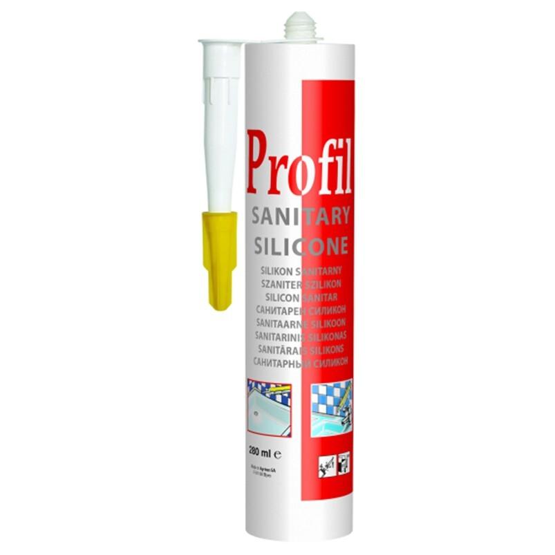 Купить Герметик санитарный силиконовый Profil Soudal бесцветный 280 мл 124253, прозрачный