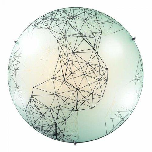 Купить со скидкой Светильник Webi 2217 круг d300 E27 1*60W белый/черный