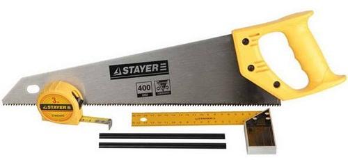 Купить со скидкой Набор для столярных работ Stayer Standard 5 предметов 15084-H5